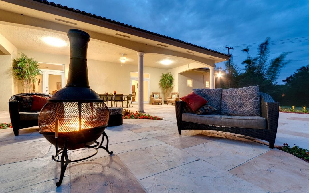 warm up your outdoor living spaces with a fire pit